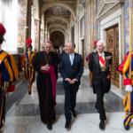 Mais do que visitas oficiais. Os encontros do católico Marcelo com o Papa