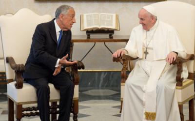 Marcelo antecipa-se aos bispos e diz que o Papa pode regressar a Fátima em 2023