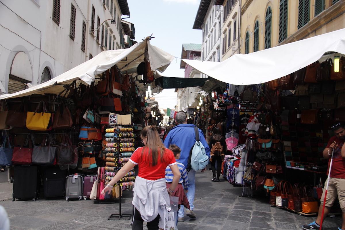 Mercado em Florença