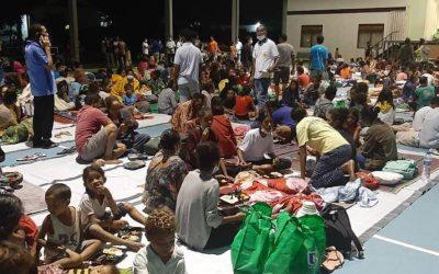 Chuva em Timor ainda dificulta ajuda aos deslocados por causa das inundações, mas religiosos mobilizam-se
