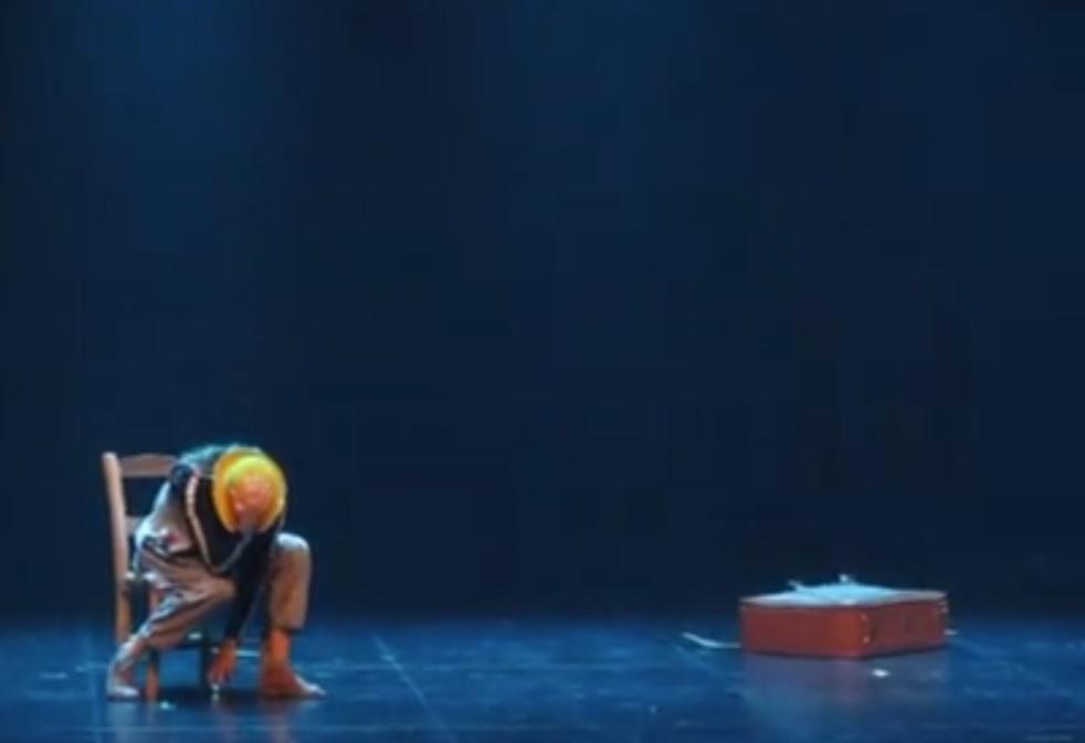 Ana Sofia Brito. Espetáculo.