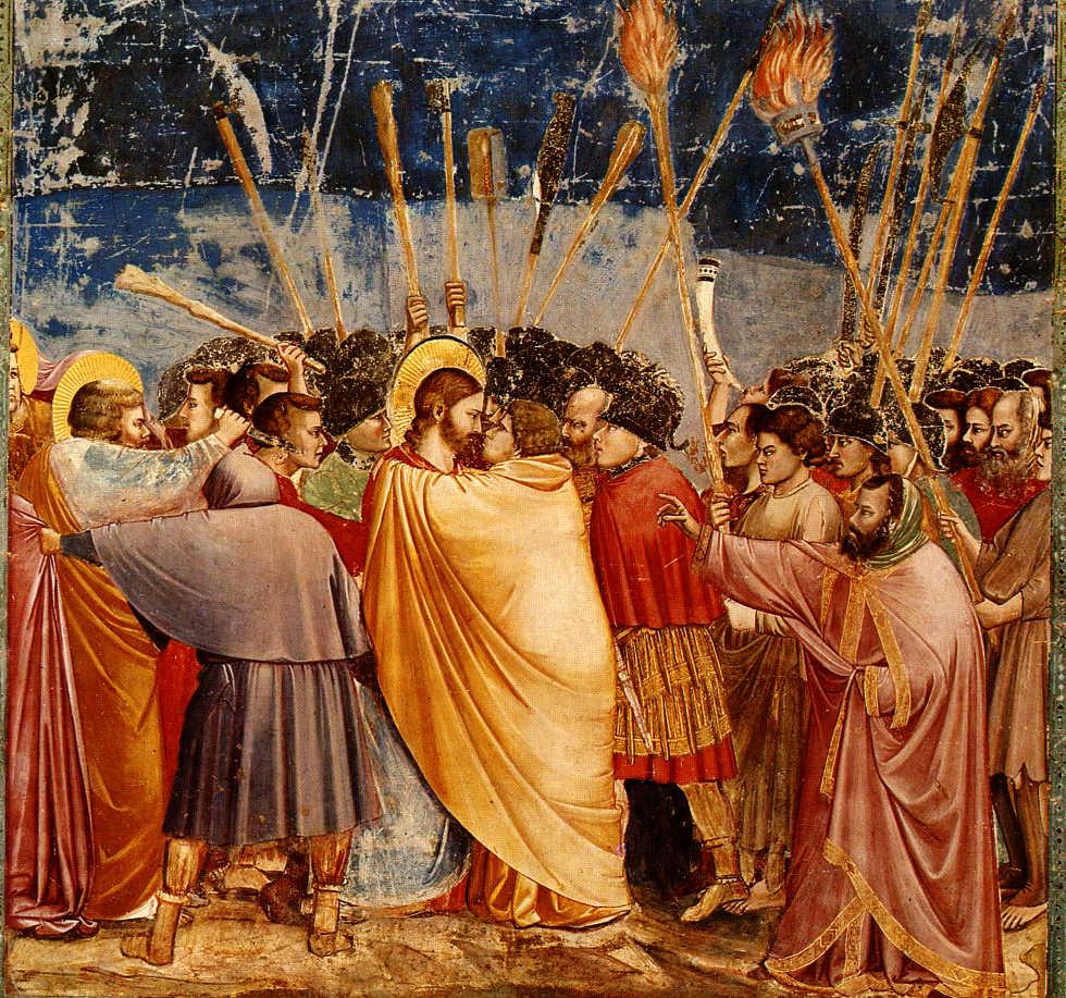 Giotto, o Beijo de Judas
