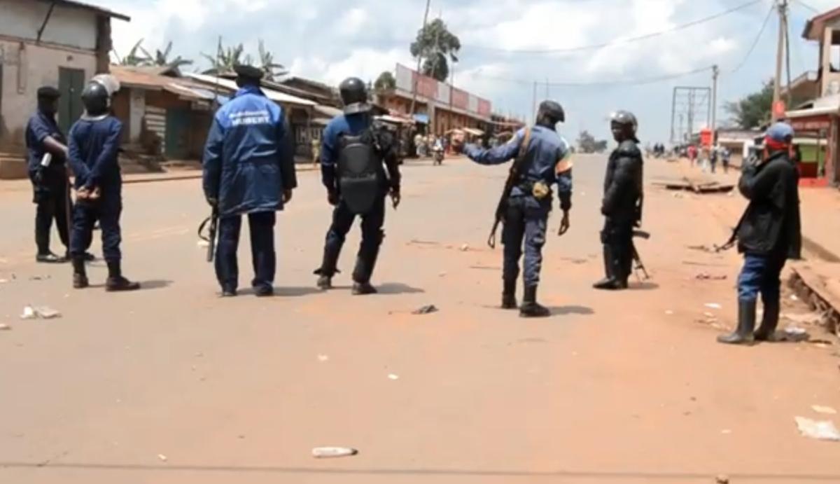 Polícia, Butembo, Congo
