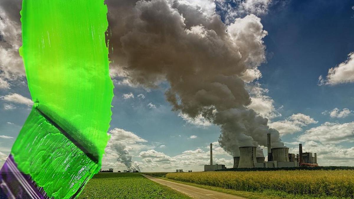 Dióxido Carbono- Greenwashing. Ambiente