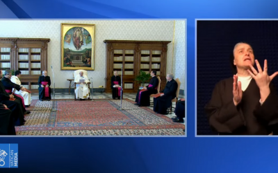 Canais de Youtube do Vatican News inauguram língua gestual