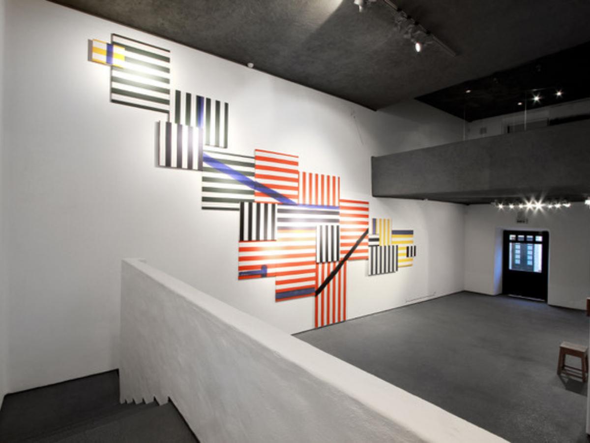 primeira exposição individual de Rui Aleixo, na galeria novaOgiva em Óbidos, 2014 Créditos Edgar Libório, Câmara Municipal de Óbidos
