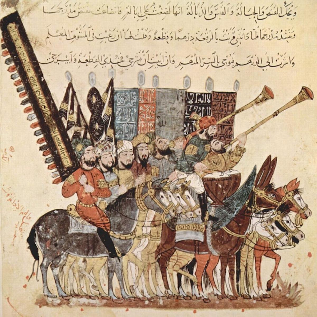 Maqamat Al-Hariri ilustração