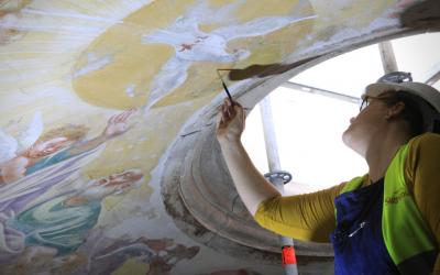 Seminário de Coimbra assinala Dia Internacional dos Monumentos e Sítios com direto na cúpula da igreja
