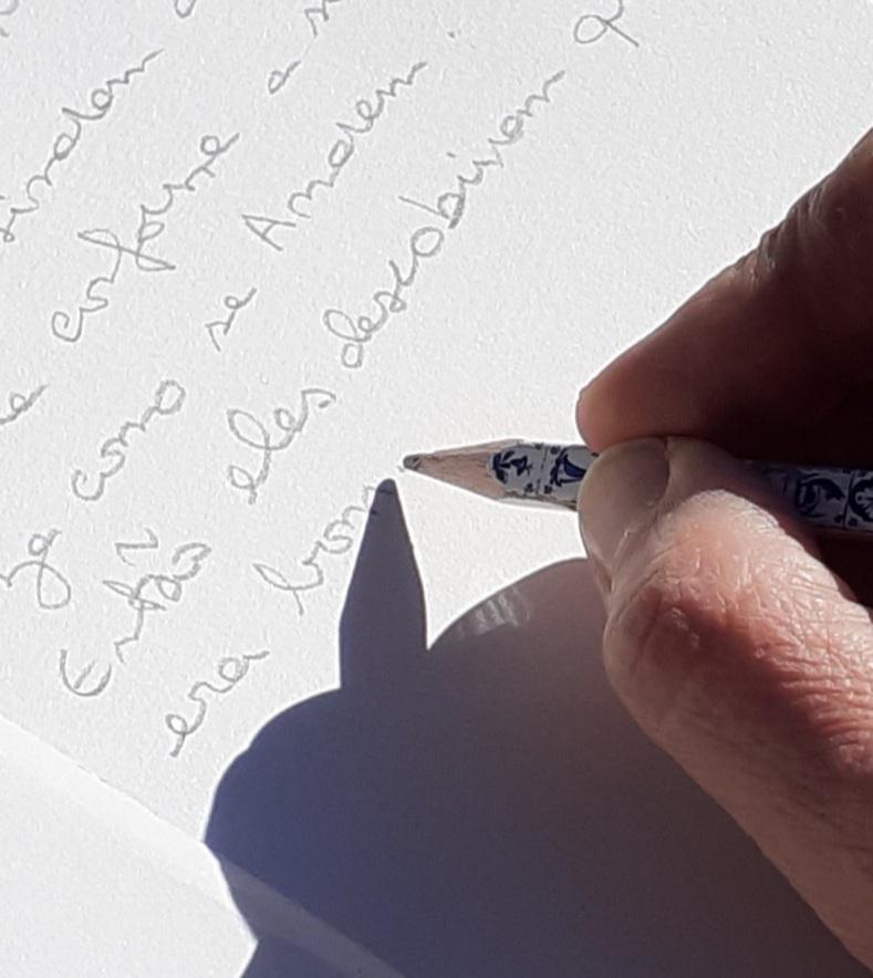 Escrever amor. Ana Cordovil
