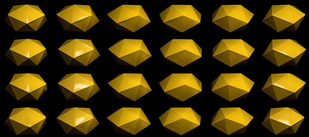 Antiprisma quadrado torcido