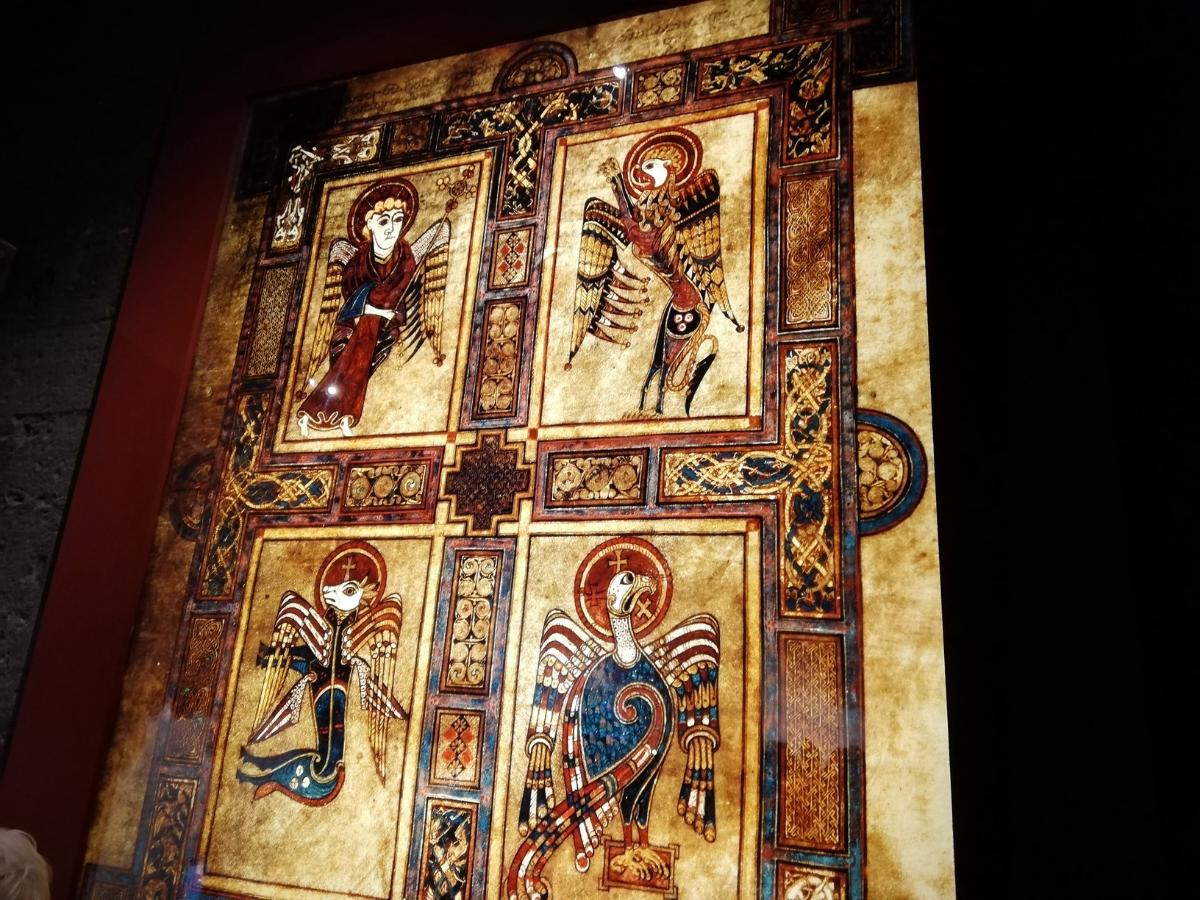 Iluminuras do Livro de Kells (Trinity College, Dublin) Foto © António Marujo