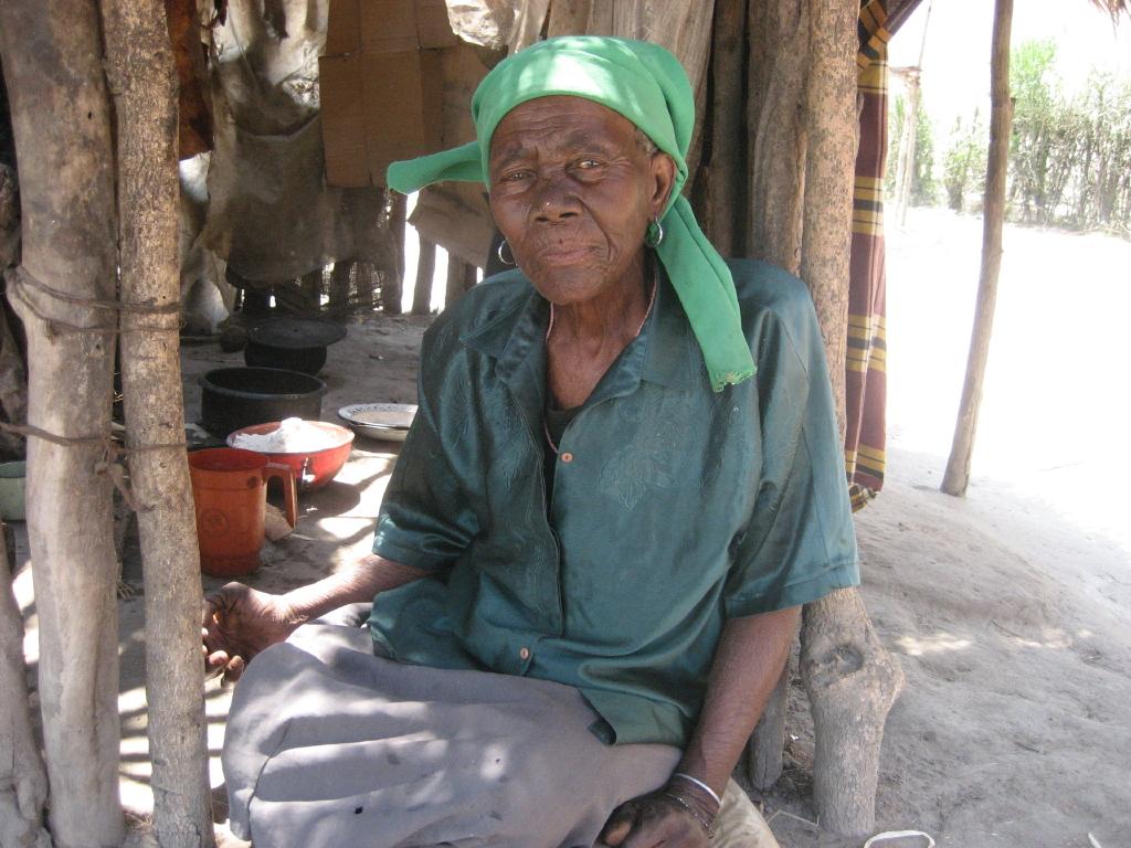 Moçambique. Mulher rural
