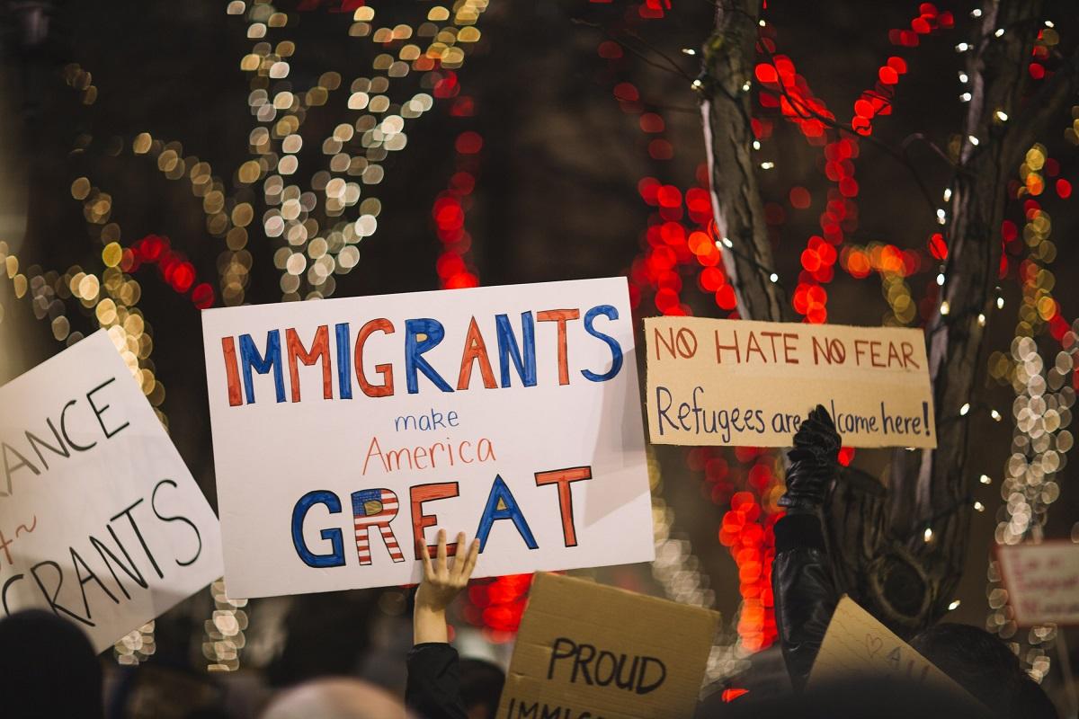 América. Imigrantes