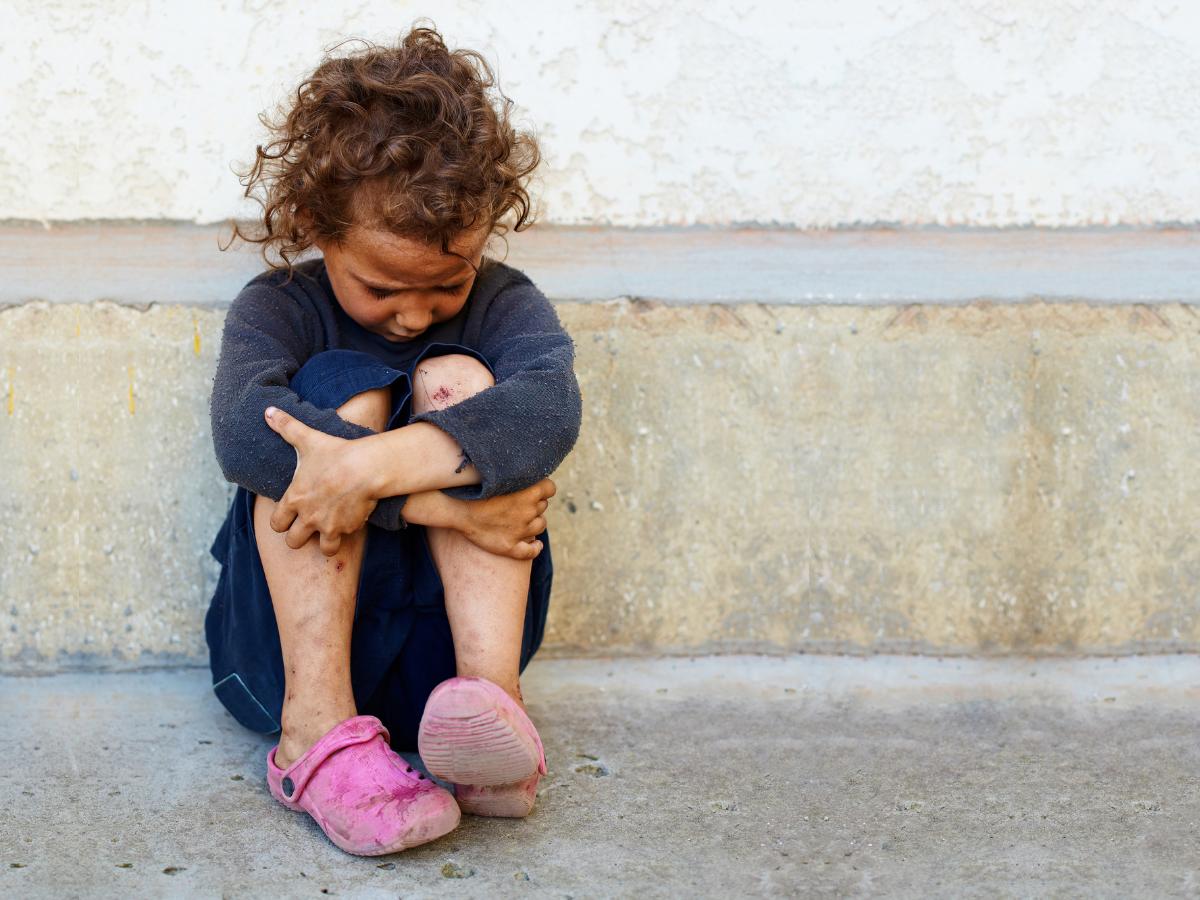 crianca pobre foto direitos reservados