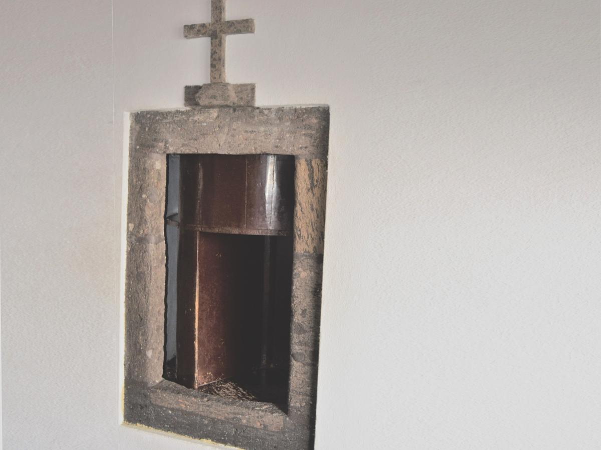 """""""Roda"""" na Igreja de São Sebastião, Ponta Delgada (Ilha de São Miguel, Açores). © Miguel Veiga"""