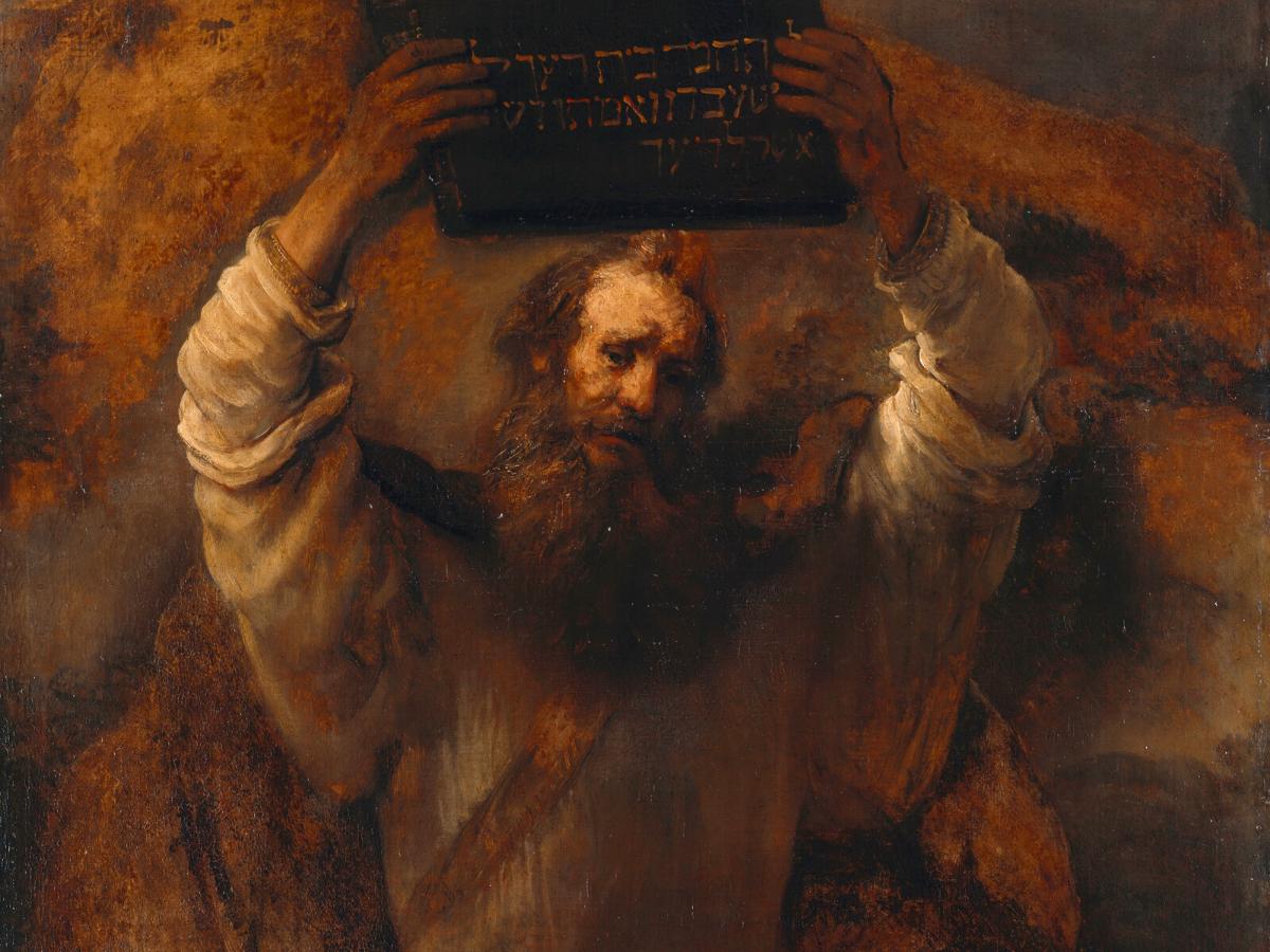 rembrandt dez mandamentos