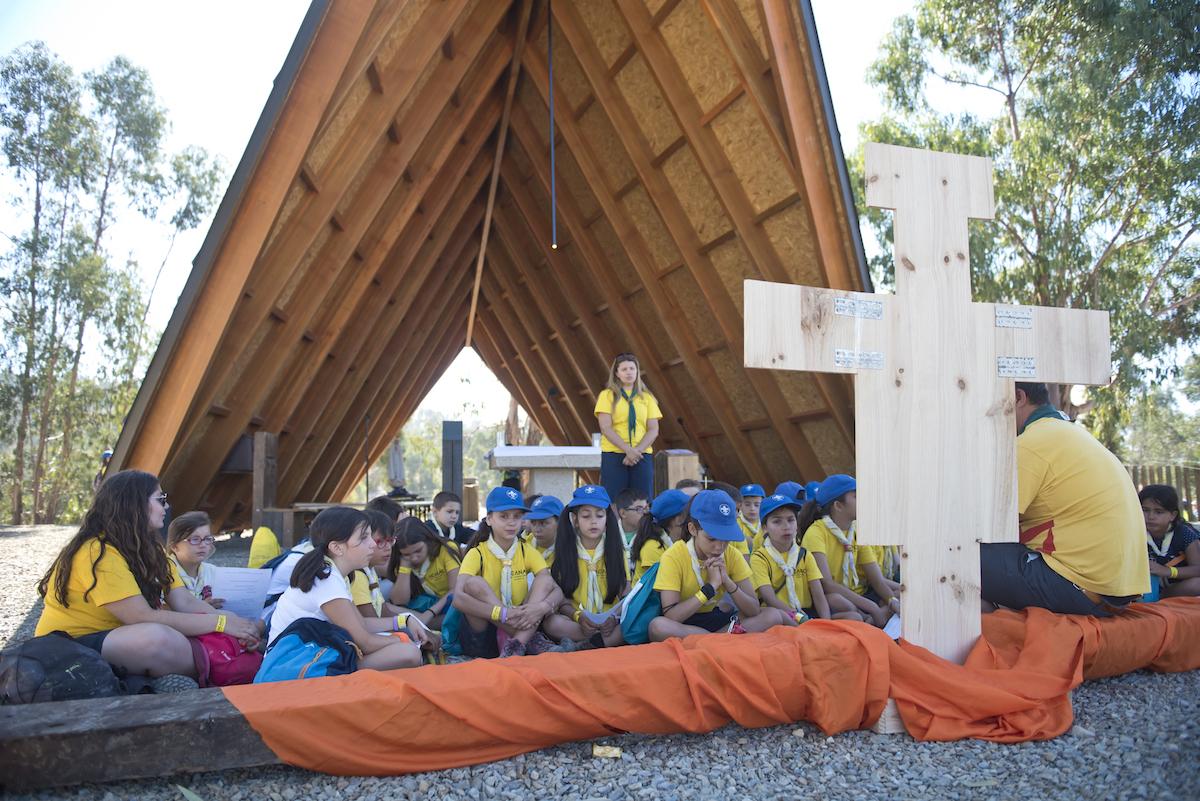 CNE, Escuteiros, capela, Idanha-a-Nova