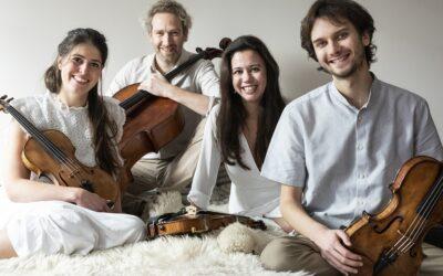 A obra de arte total, a herdade sustentável e o quarteto de cordas para o fim de semana