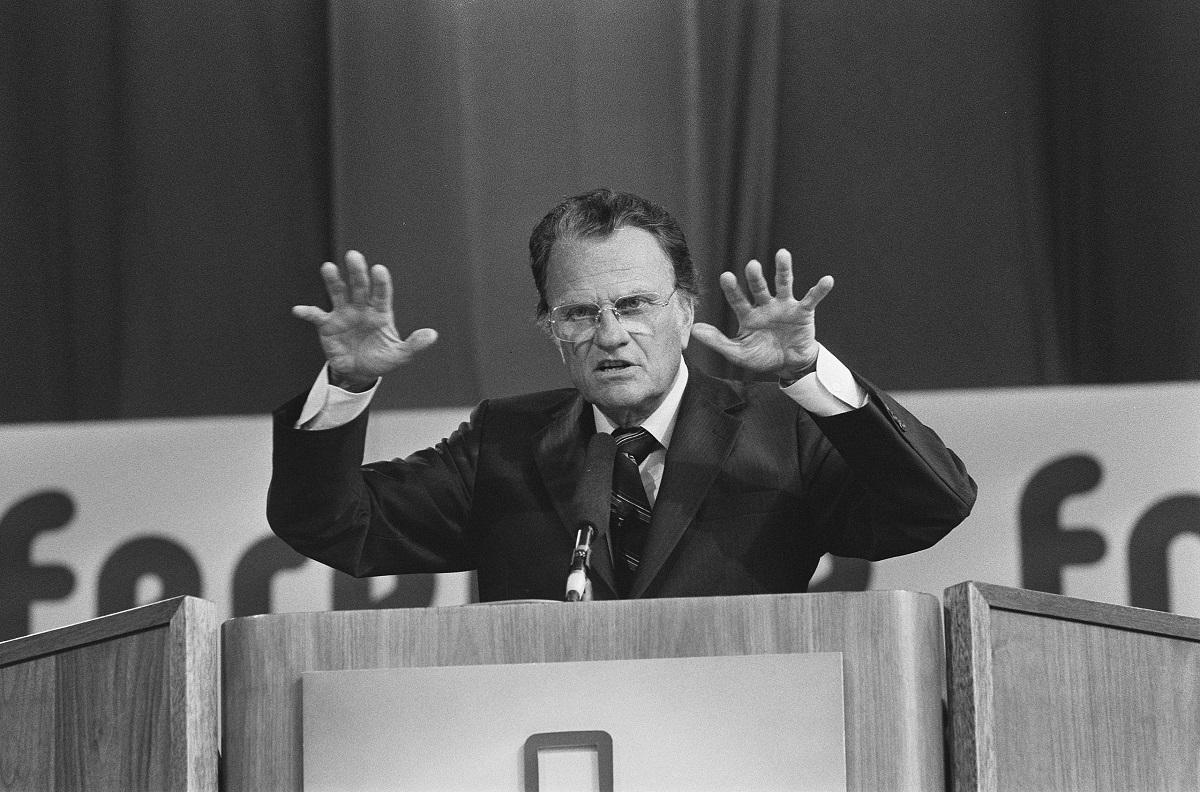 Billy Graham. EUA. Pregador