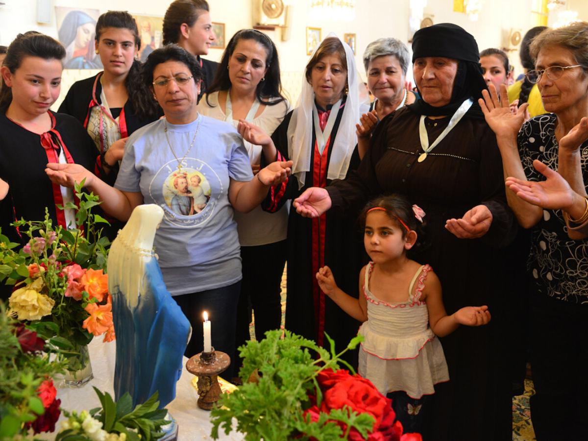 Cristãos no Médio Oriente. foto 2 © ACN Portugal