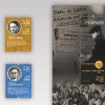 Aristides, o padre Carreira e os outros justos que salvaram vidas homenageados em selos