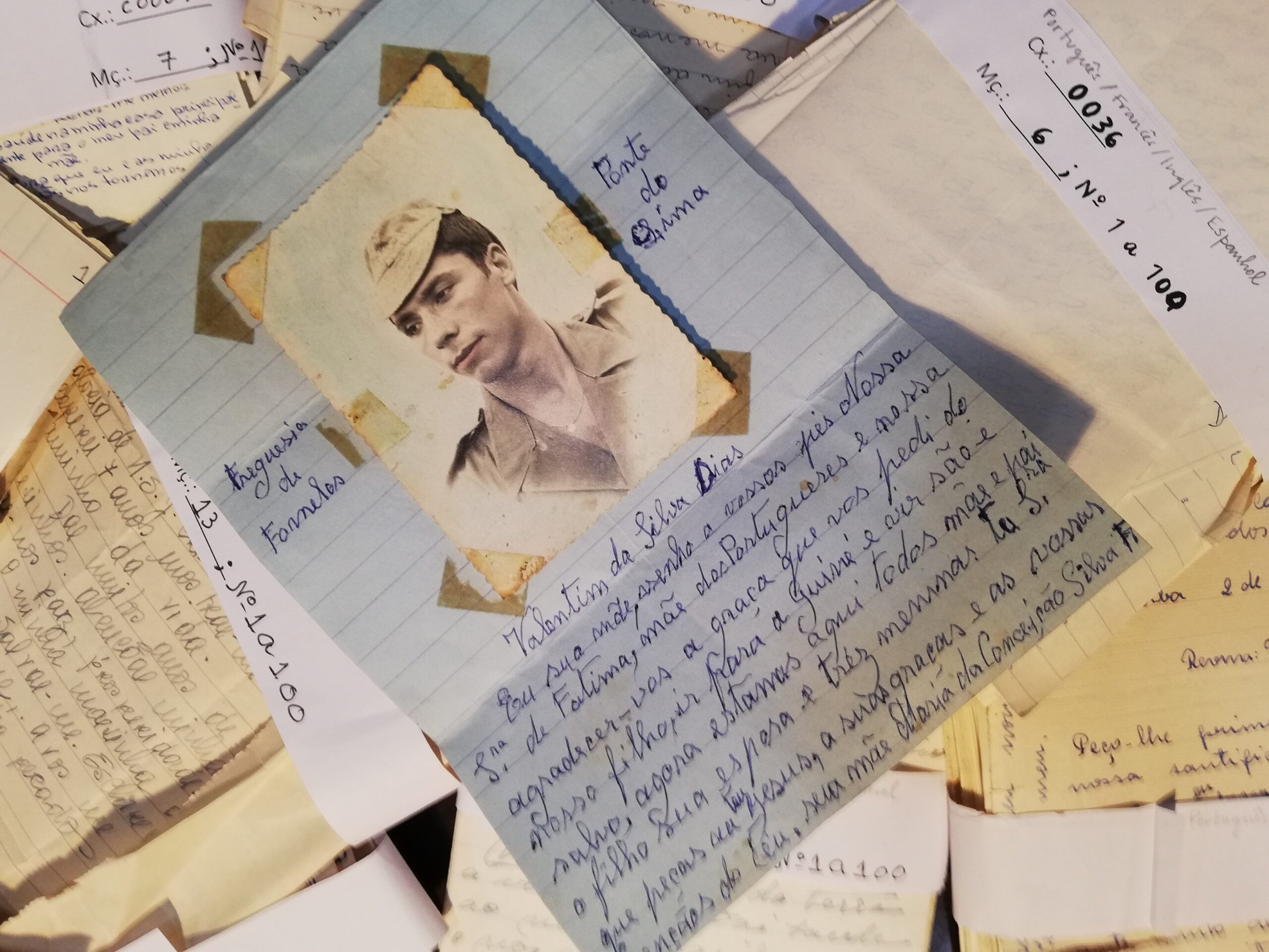 Cartas, Correio de Nossa Senhora, Fátima