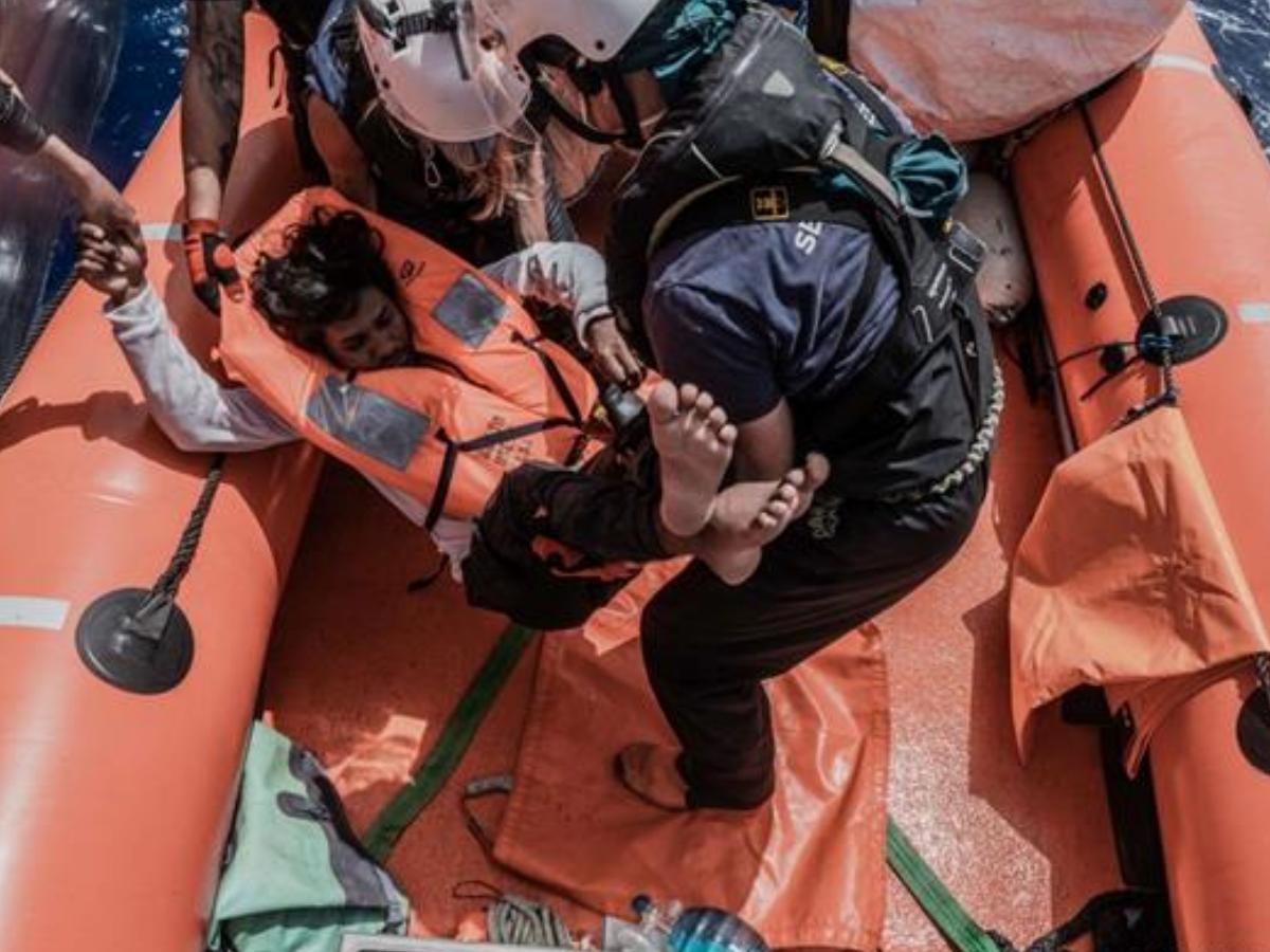 migrantes mediterraneo Flavio Gasperini SOS Mediterranee