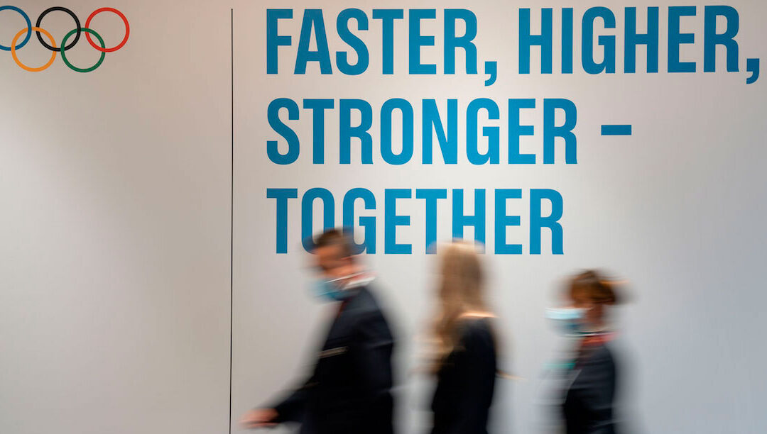 """""""Mais rápido, mais alto, mais forte – e agora também """"juntos"""""""