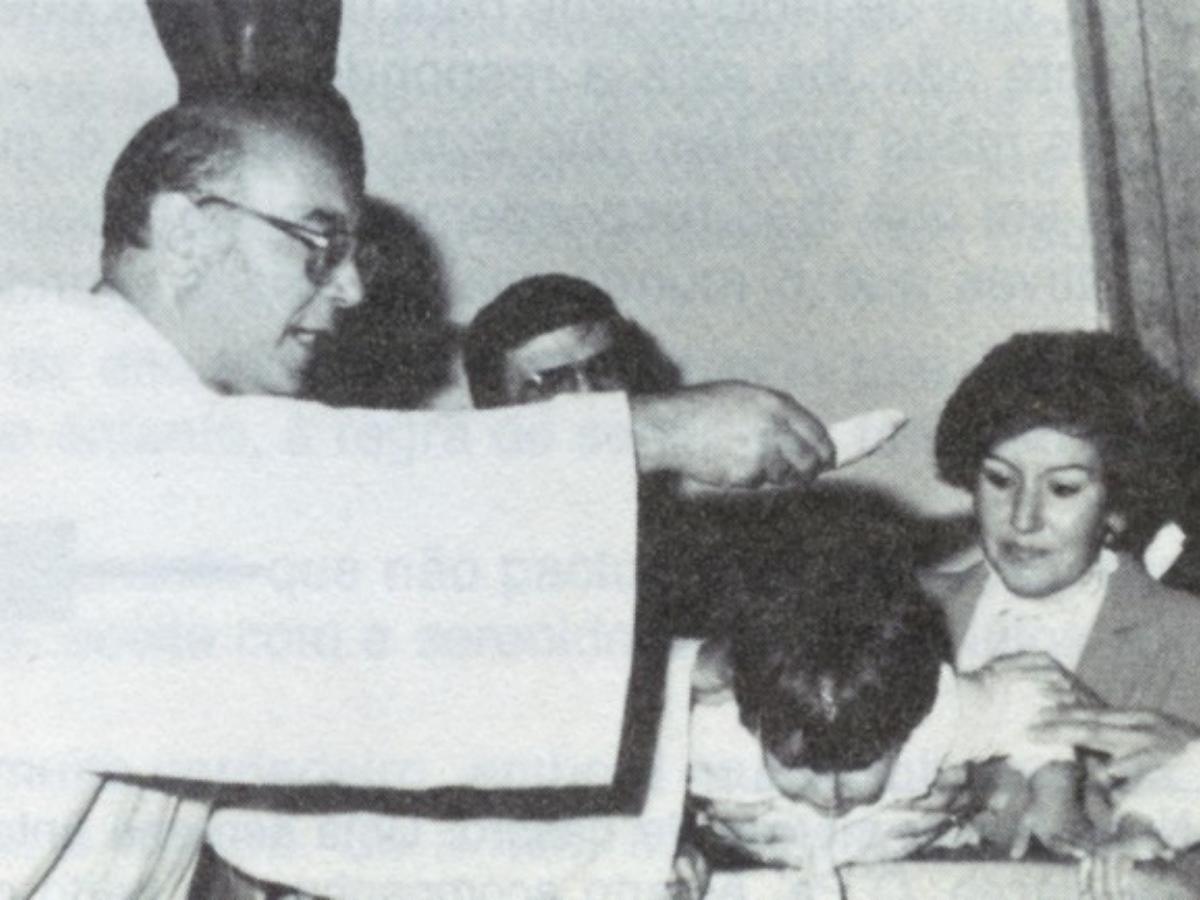 padre alberto neto batismo