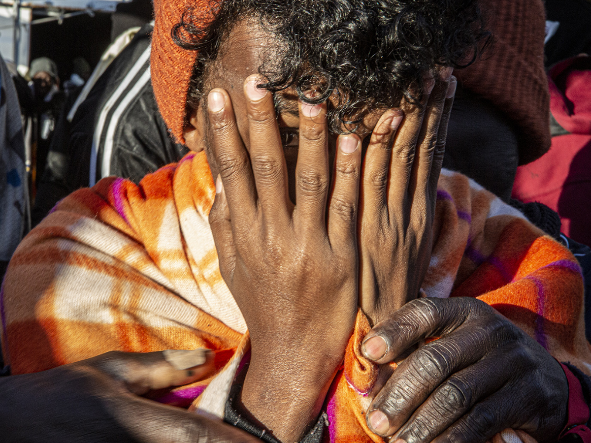 refugiado libia mediterraneo Foto Anthony Jean SOS Mediterranee