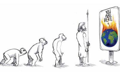 As angústias e as esperanças do mundo no desenho de humor