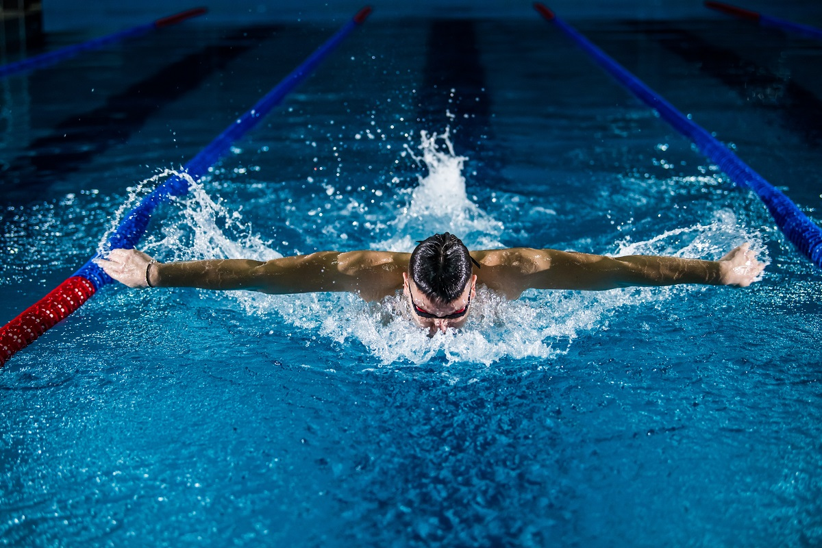 Natação Olímpica. Desporto