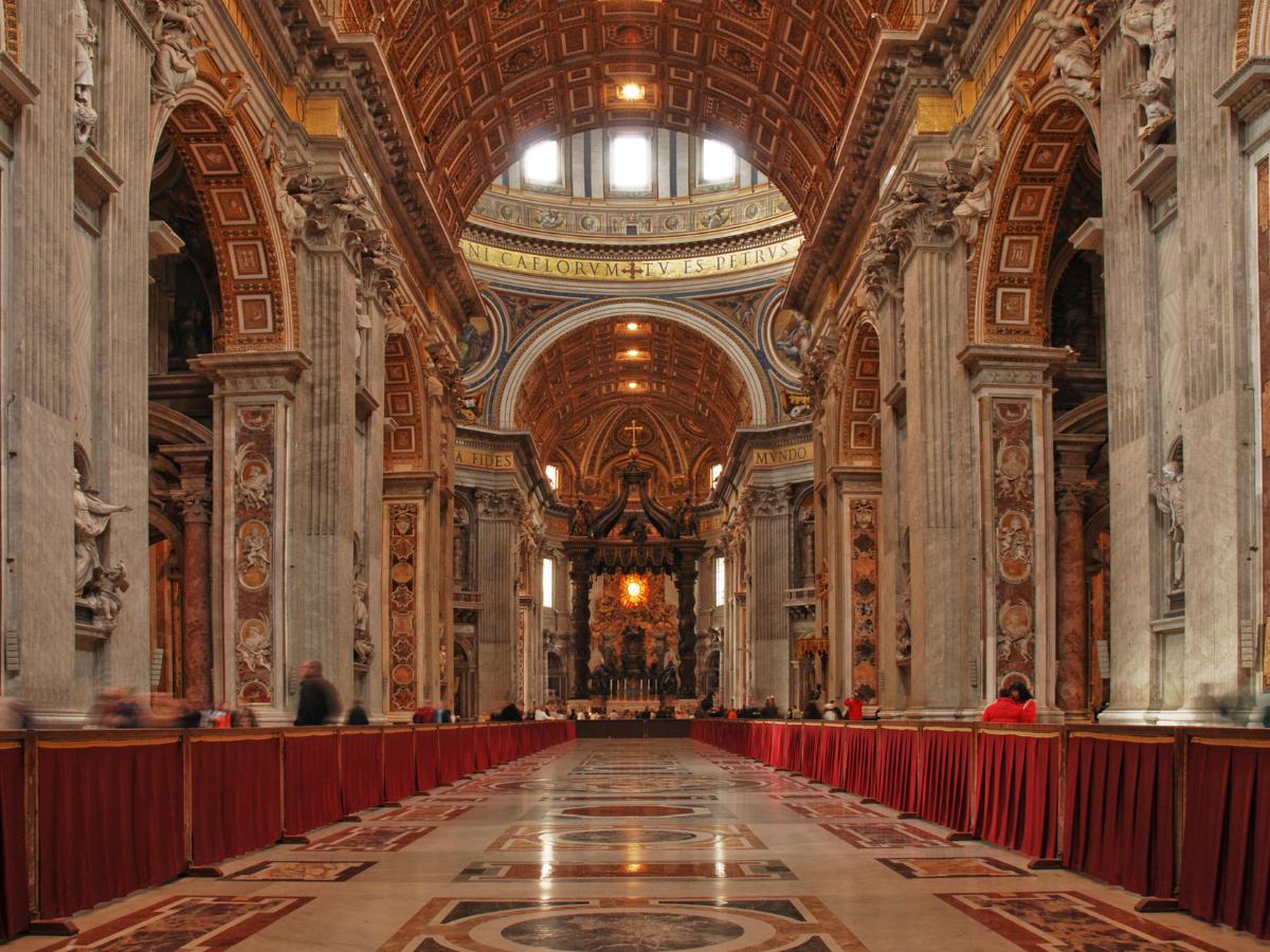 basilica sao pedro vaticano foto direitos reservados