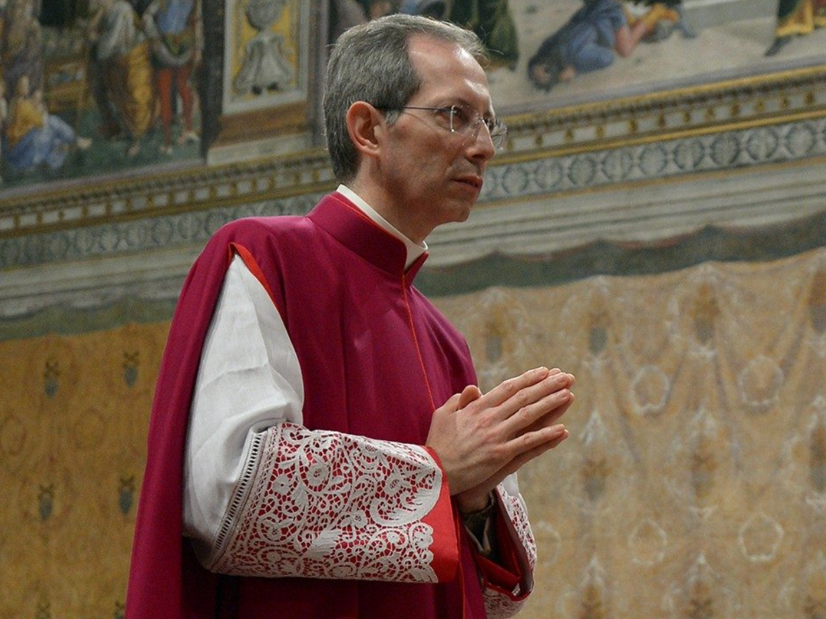 guido marini foto vatican news sem creditos