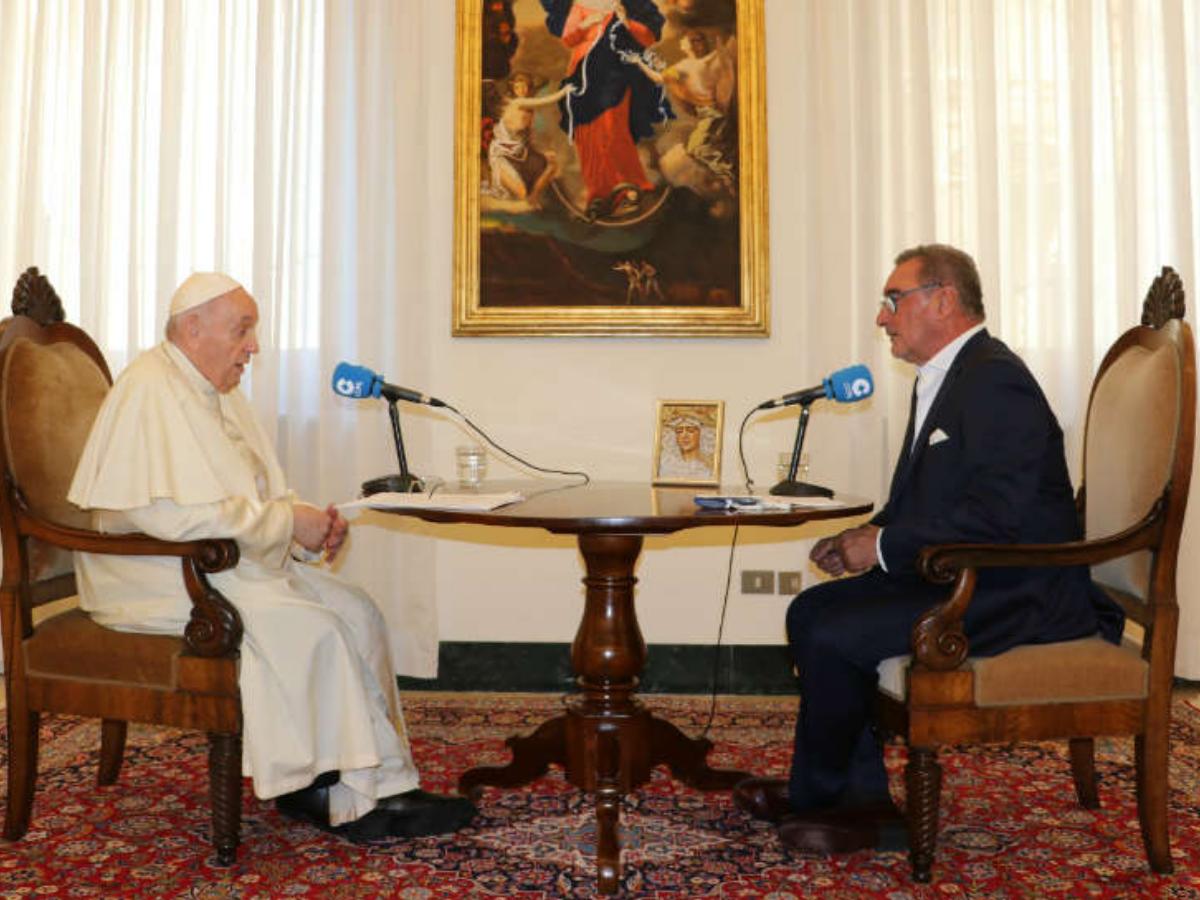 papa francico entrevista radio cope, foto site cope