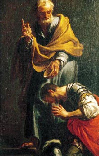 Batismo do centurião Cornélio