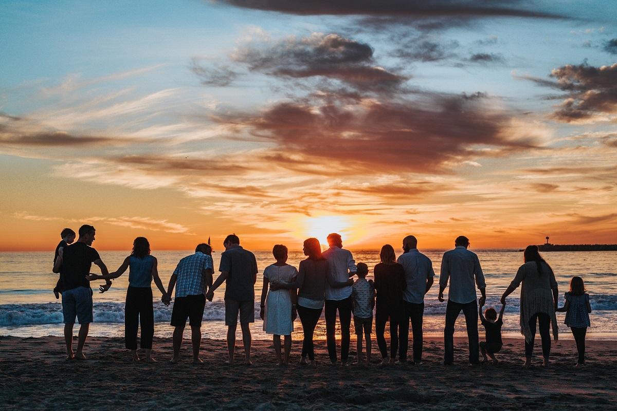 Grupo por do sol
