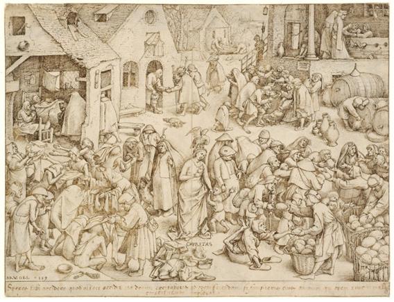 Pieter Bruegel o Velho, Caritas