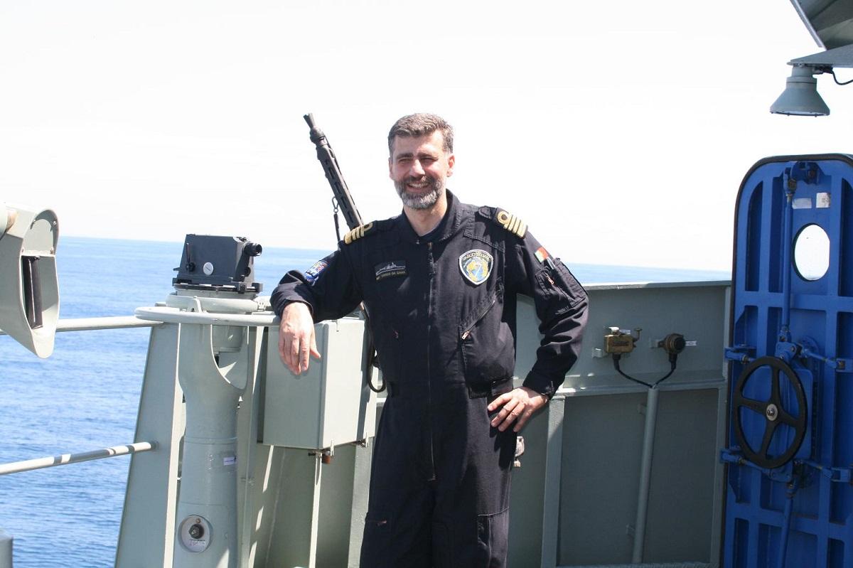 Gouveia e Melo. Marinha. Vice-almirante
