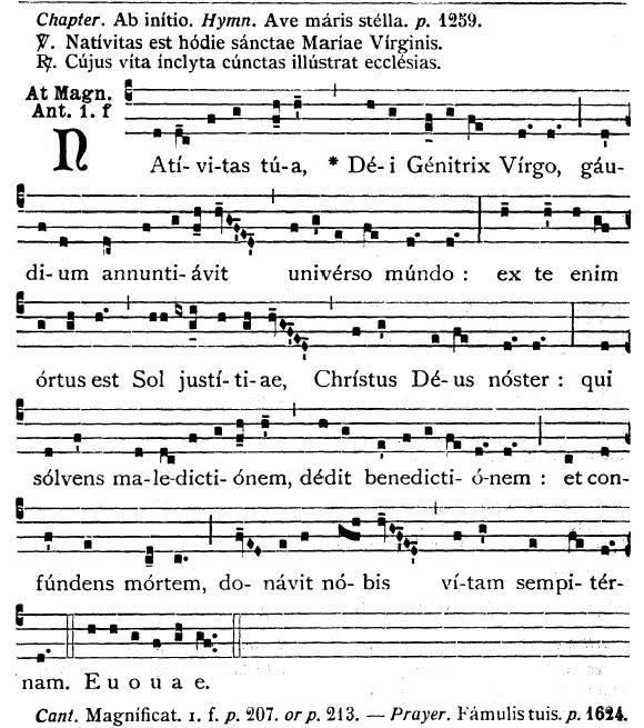Canto natividade latino