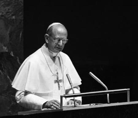 Paulo VI ONU 1965