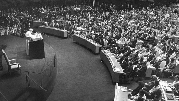 Papa João Paulo II ONU, 1979