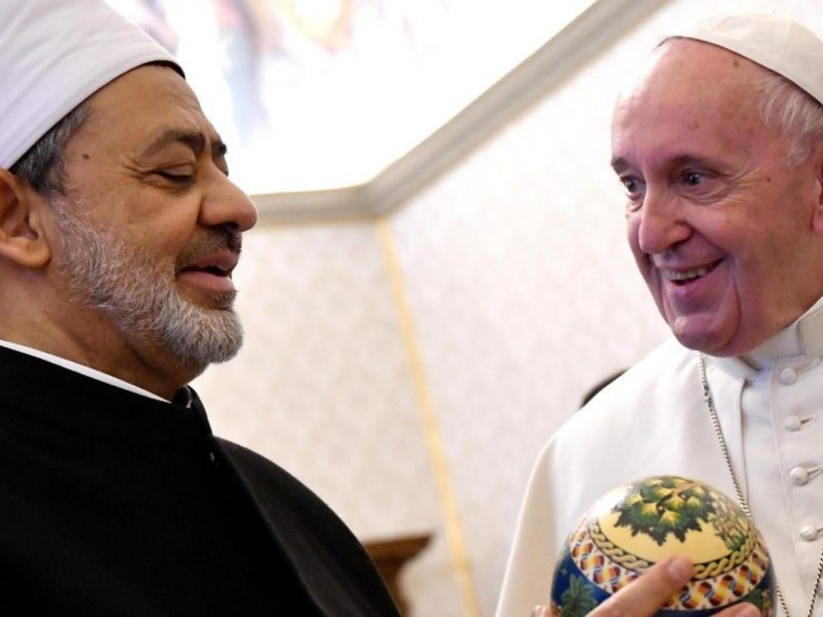 papa francisco imã al-tayeb nov 2019 foto vatican news (1)