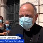 """Os """"valores cristãos"""" de Jorge Sampaio, segundo o patriarca de Lisboa"""