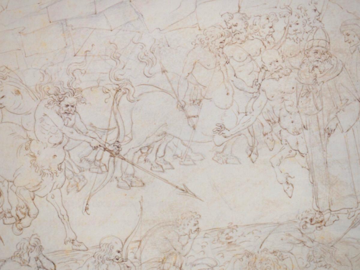 sandro boticcelli dante inferno imagem biblioteca vaticana