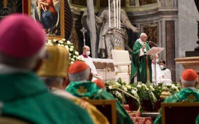 À escuta das perguntas, preocupações e esperanças da Igreja e do mundo