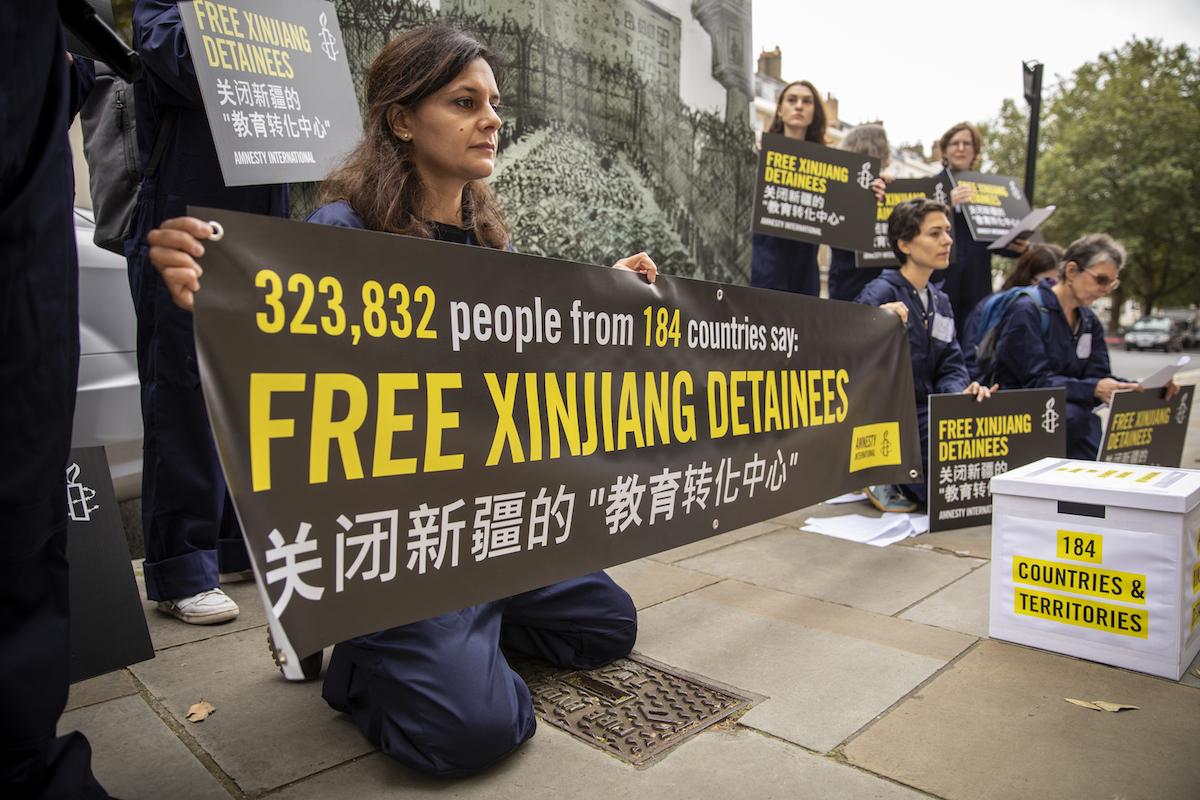 Xinjiang, China, Amnistia Internacional